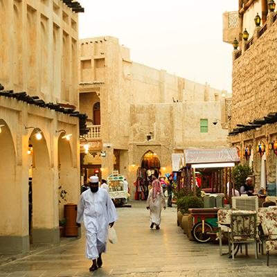 Za 144 ur v Katar