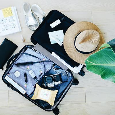 Prtljaga na svojem izletu