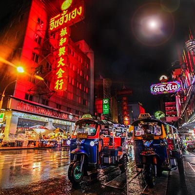 Potovanje v Bangkok